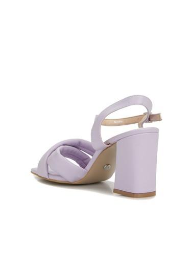 Divarese Divarese 5025370 Topuklu Lila Kadın Sandalet Lila